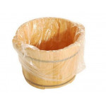 Disposable Plastic Foot Tube (90pcs/pkt)
