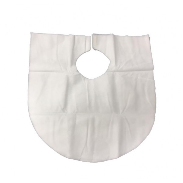 Disposable Non Woven Makeup Bibs (100pcs/pkt)