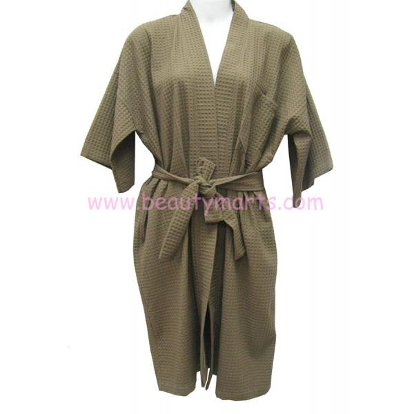 Waffle Bath Robe Kimono (M Size)