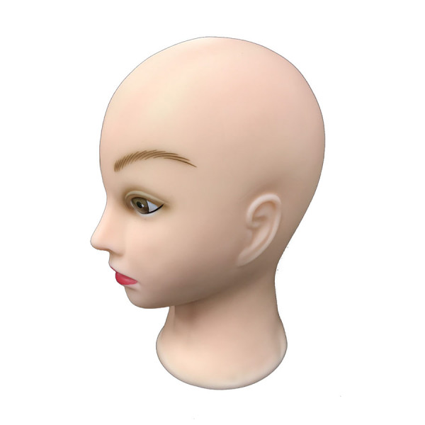 Mannequin Massage Training Head - Skin Feel