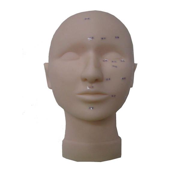 Eyelash Practice Massage Training Cosmetology Mannequin Head with Pressure Point