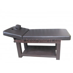 """Wooden bed with cabinet (4L) 30"""""""