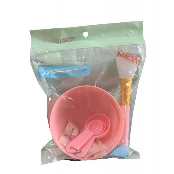 DIY Mask Bowl Set Silicone Brush Gauze Spoon