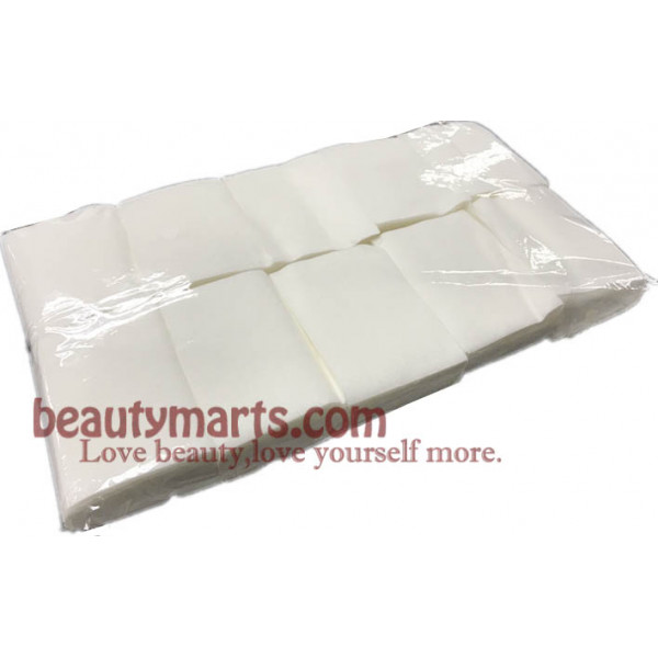 Cotton Pad Nail Art Wipes Acrylic Gel Tips Remover -(1000pcs/pkt)