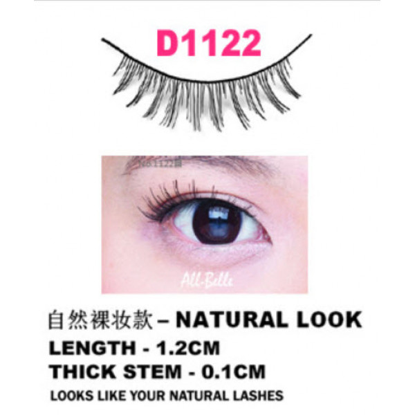 All-Belle Premium Handmade Eyelash D1122 - (10pairs)