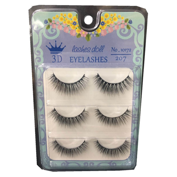 3D Lashes Doll Eyelash #207