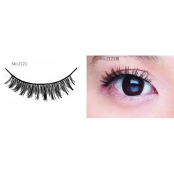 All-Belle Premium Handmade Eyelash D2121 - (10pairs)