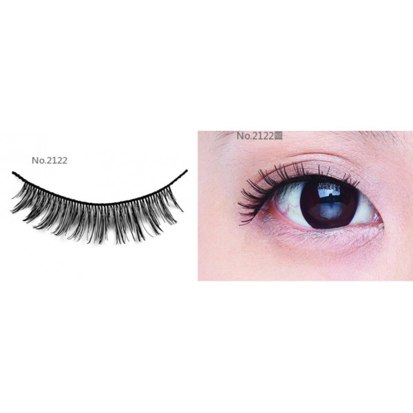 All-Belle Premium Handmade Eyelash D2122 - (10pairs)