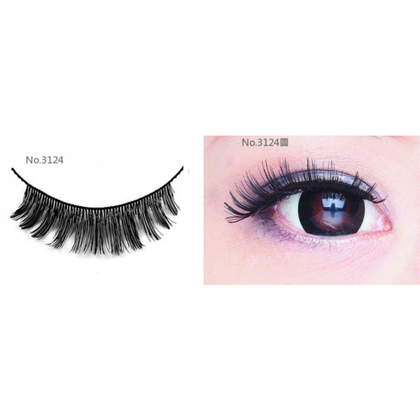 All-Belle Premium Handmade Eyelash D3124 - (10pairs)
