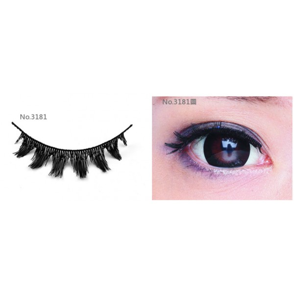 All-Belle Premium Handmade Eyelash D3181 - (10pairs)