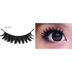 All-Belle Premium Handmade Eyelash D4124 - (10pairs)