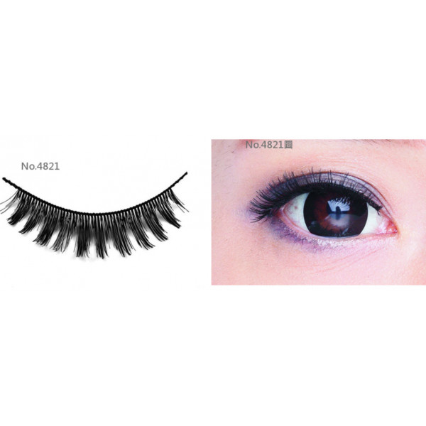 All-Belle Premium Handmade Eyelash D4821 - (10pairs)