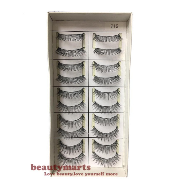 Handmade Taiwan False Eyelash #715 (10 Pairs)