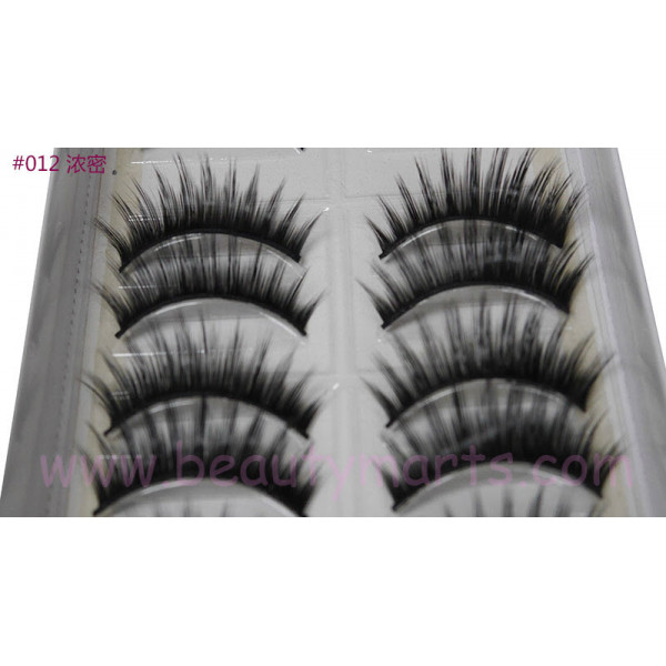 Handmade Taiwan False Eyelash #012 (10 Pairs)