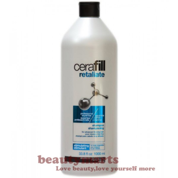 Redken Cerafill Retaliate Shampoo 1000ml - For Advanced Thinning Hair