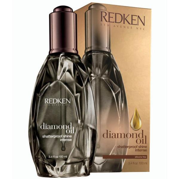 Redken Diamond Oil Shatterproof Shine Intense (100ML) - For Dull & Damage Hair