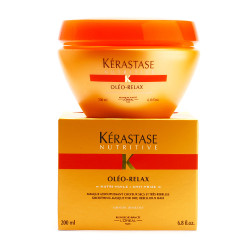 Kerastase Oleo-Relax Masque  - Formulated to discipline dry, frizzy, unmanageable hair.