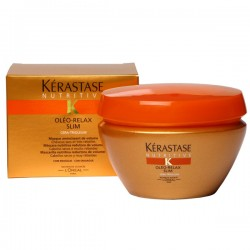 Kerastase Oleo-Relax Slim Masque - An intense smoothing masque for thick, dry and rebellious hair.