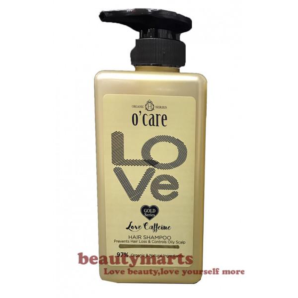 O'CARE Love Caffeine Hair Shampoo (Prevent Anti-itch & Oil Control)