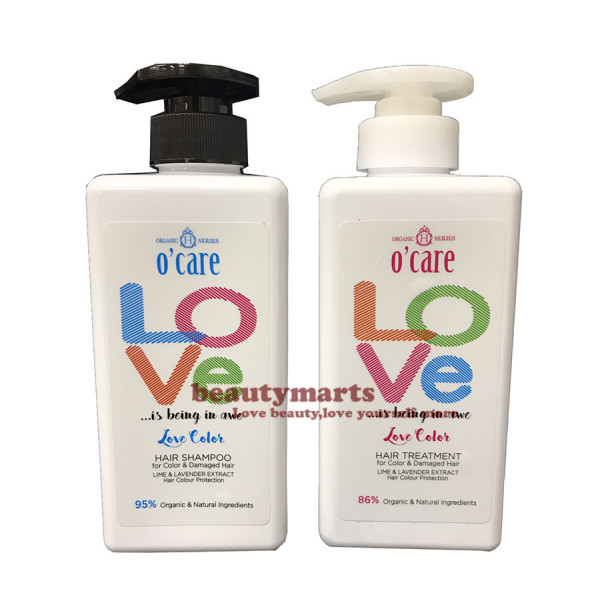 O'CARE Love Color Hair Shampoo + Treatment  (Ideal for Color Hair & Damage Hair)