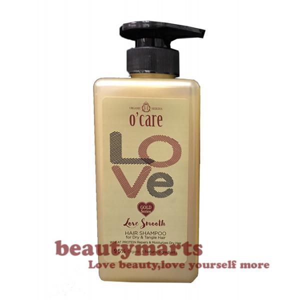 O'CARE Love Smooth Hair Shampoo (For Dry & Tangle Hair)