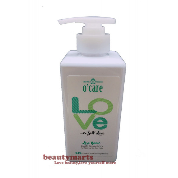 O'CARE Love Basic Hair Shampoo (Ideal for Normal to Dry Hair)