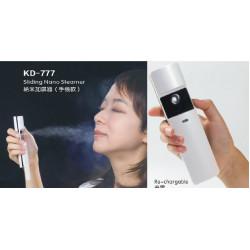 Sliding nano steamer / re-chargeable nano facial steamer (KD-777)