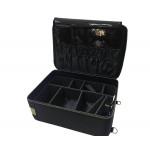 Professional Makeup Case Backpack Waterproof with Adjustable Divider