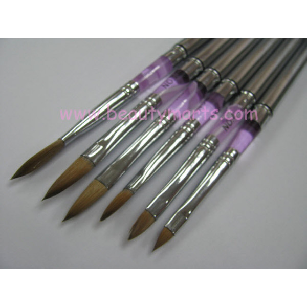 Crystal Nail Art Brush (6pcs)