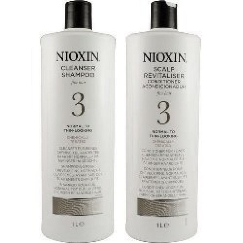 Nioxin System 3 Cleanser Amp Scalp Therapy Duo Set For