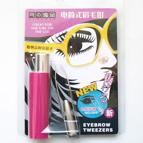 Eyebrow Tweezer with LED Light