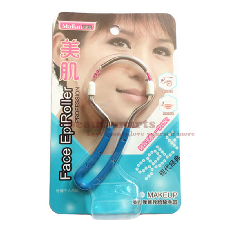 Spring Type Stainless Steel Face Body Hair Remover Tool