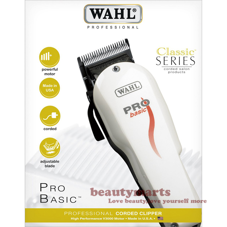 Wahl Pro Basic Corded Clipper 8256 Ideal For Beginner Professional Classic Series 1 Usa